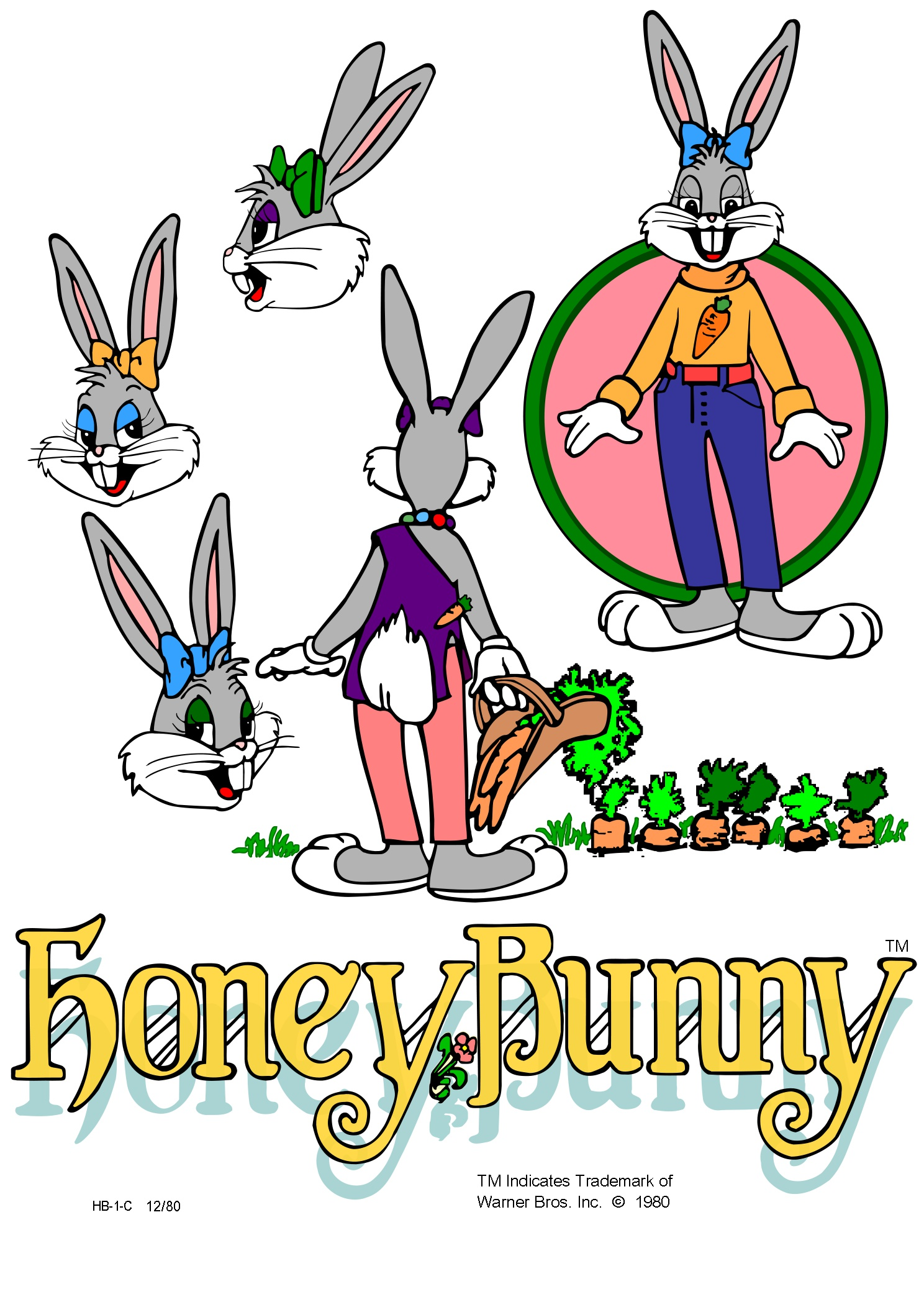 Honey Bunny Character Introduction Page